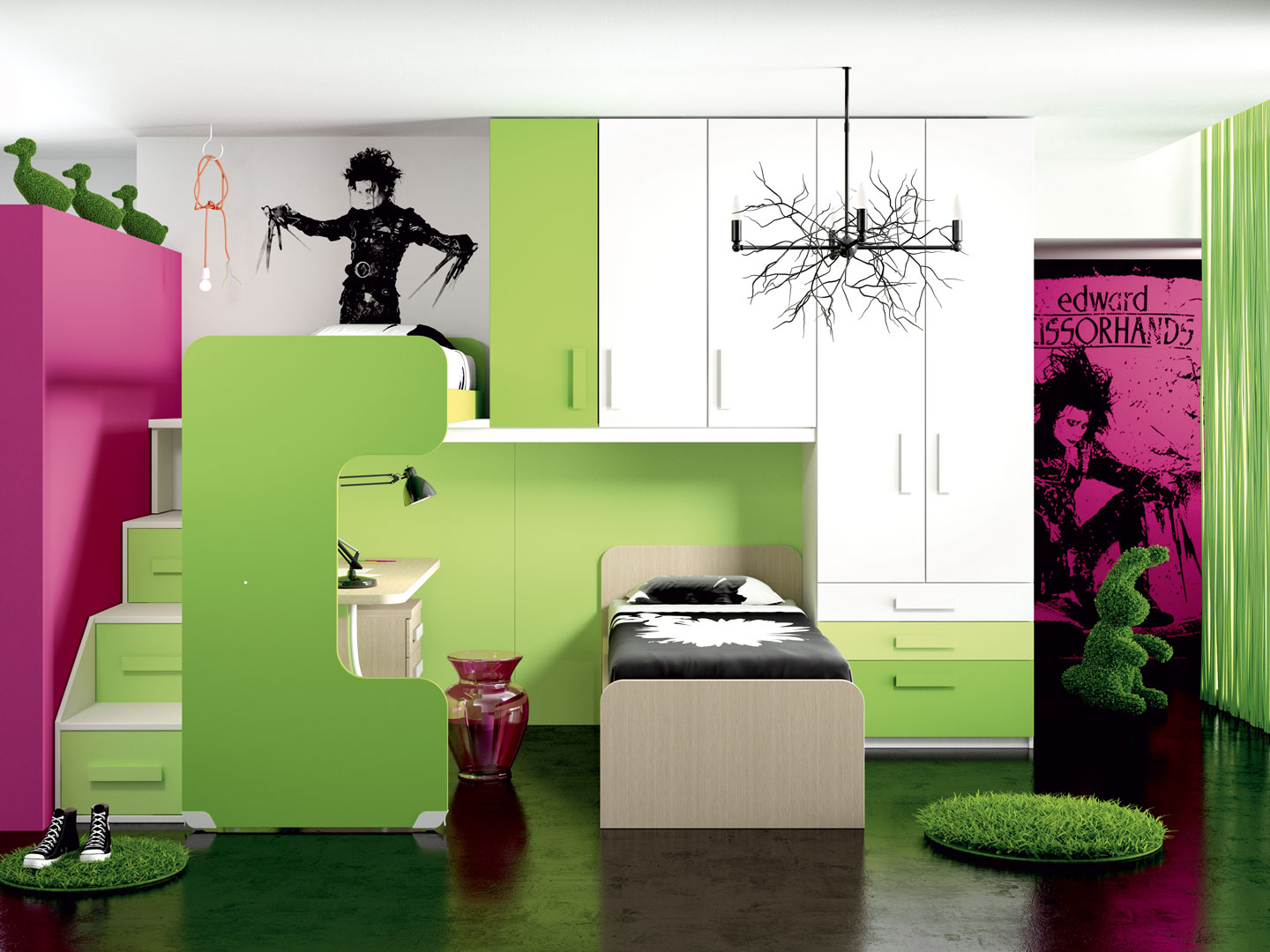 Camerette made in italy ima mobili composizione 4 newformsdesign camerette newformsdesign - Mobili made in italy ...
