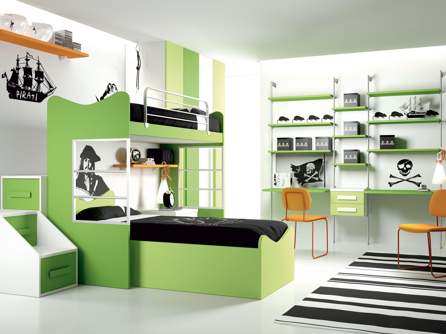 Children 39 s rooms made in italy ima mobili composition 6 for Mobili italy