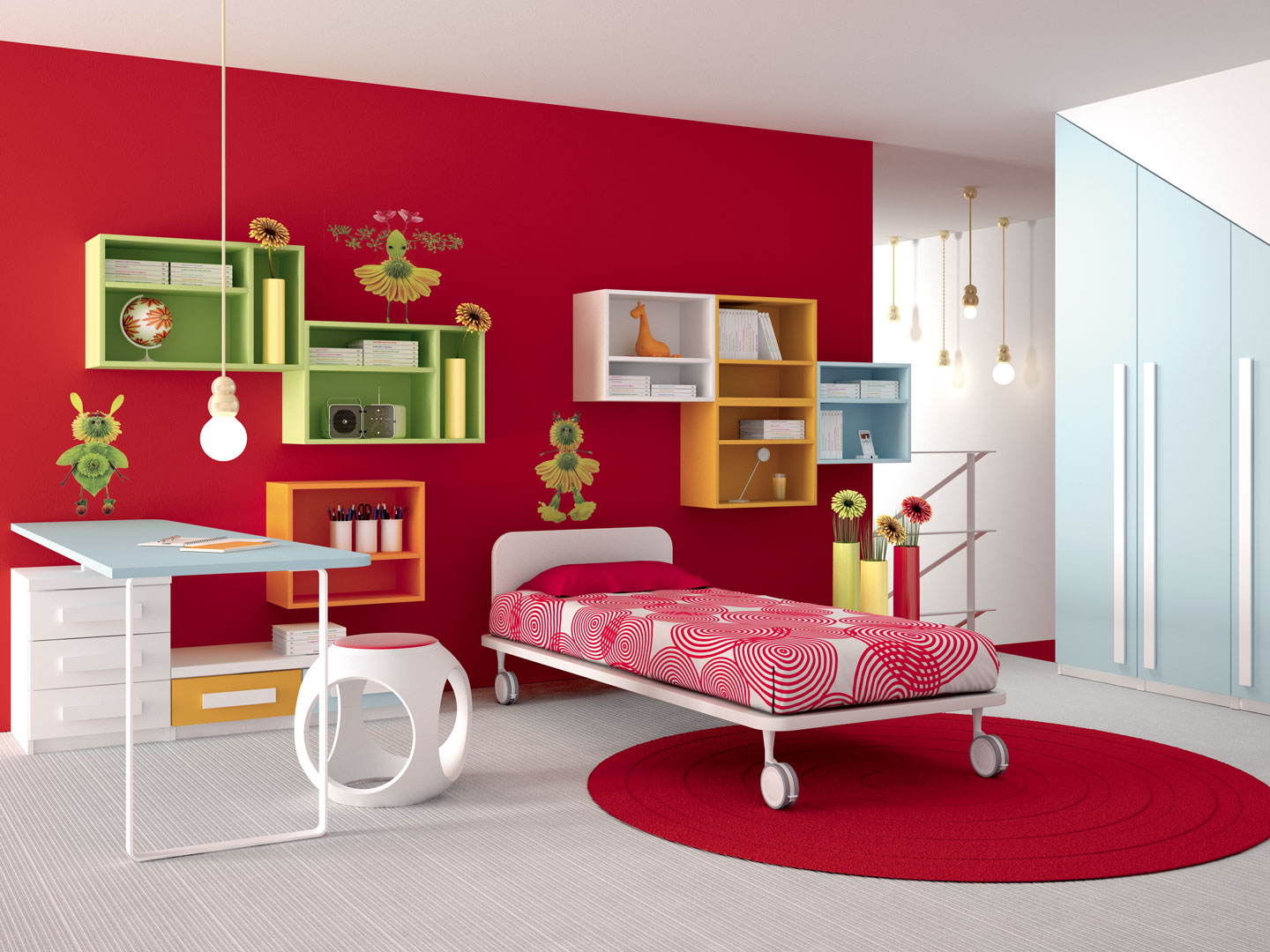 Camerette made in italy ima mobili composizione 14 newformsdesign camerette newformsdesign - Mobili made in italy ...