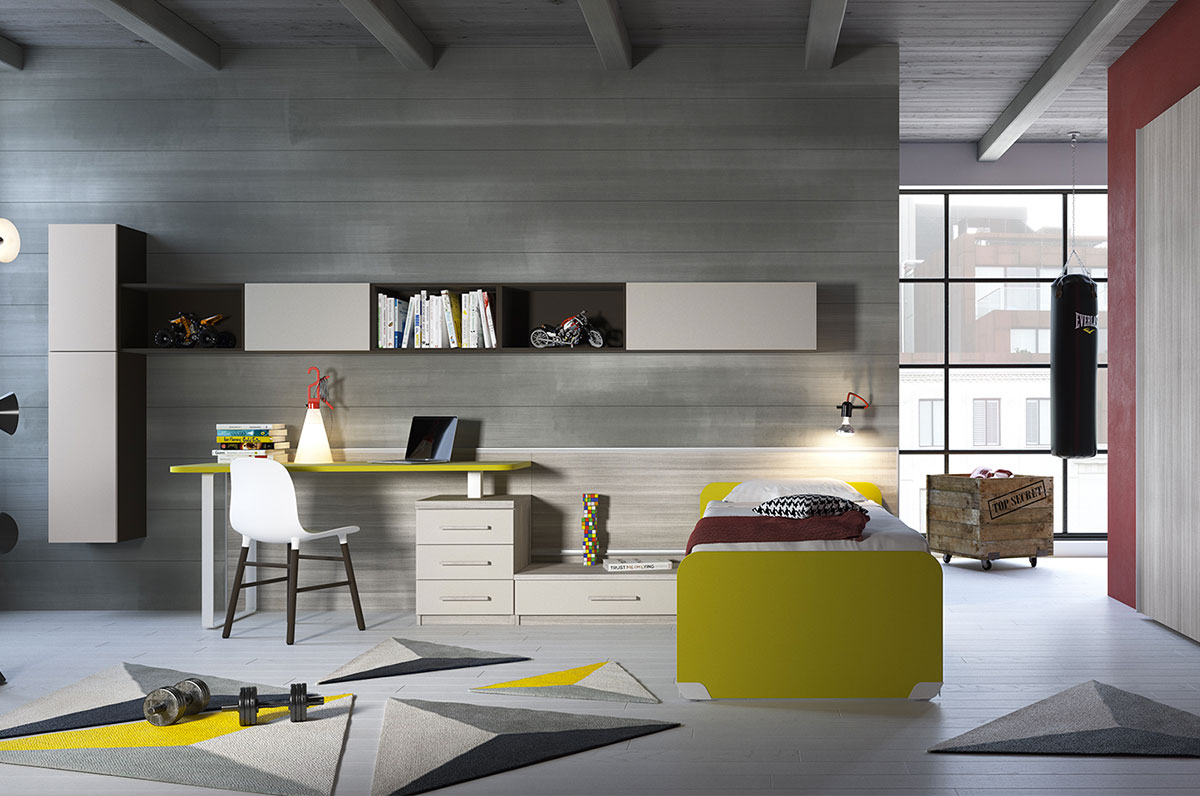 Children 39 s rooms made in italy ima mobili composition 15 - Mobili made in italy ...