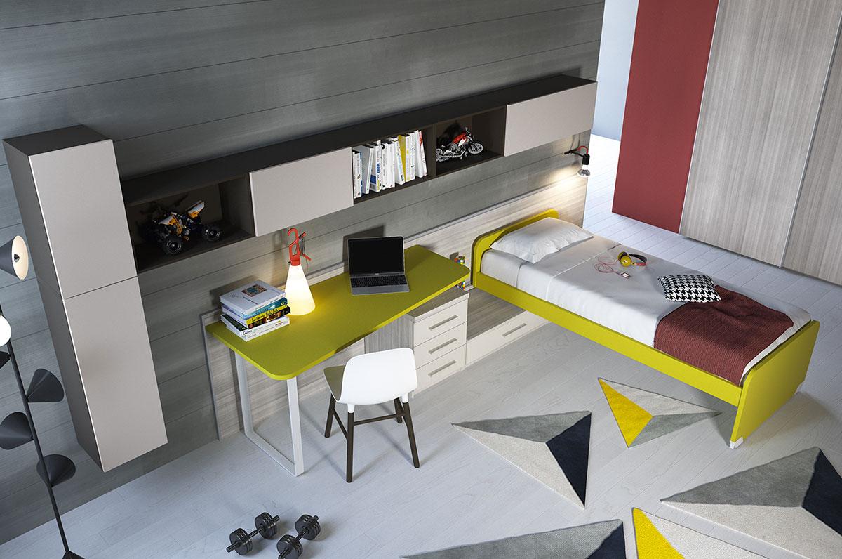 Camerette made in italy ima mobili composizione 15 - Mobili made in italy ...