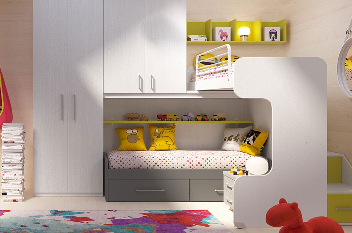 Children's rooms Made In Italy Ima Mobili Composition 11