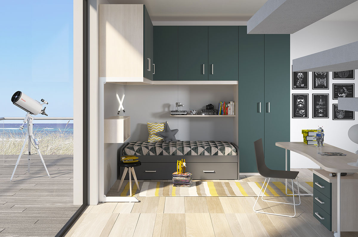Children's rooms Made In Italy Ima Mobili Composition 20