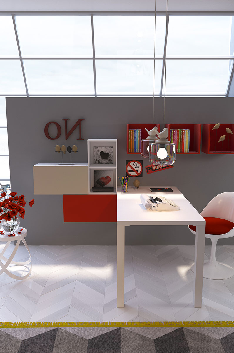 Children 39 s rooms made in italy ima mobili composition 25 - Mobili made in italy ...