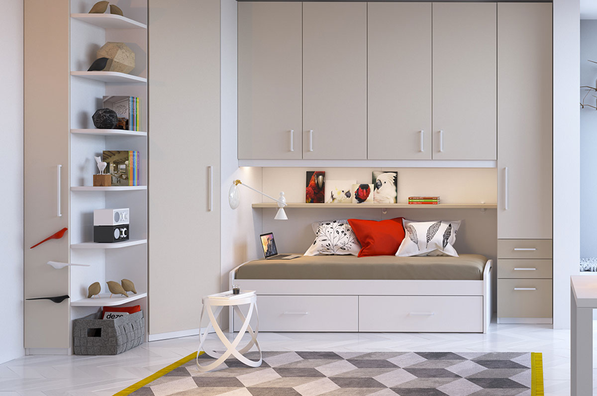 Children 39 s rooms made in italy ima mobili composition 25 newformsdesign children s rooms - Mobili made in italy ...