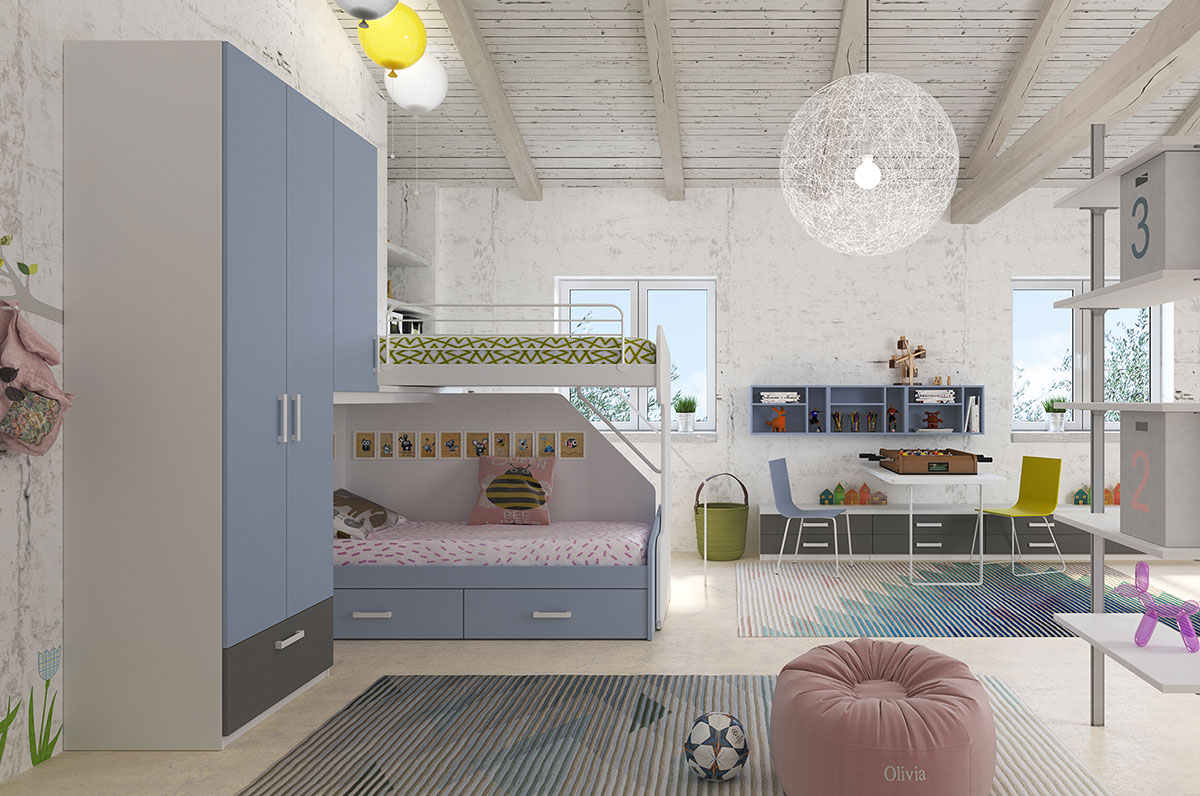 Camerette made in italy ima mobili composizione 28 newformsdesign camerette newformsdesign - Mobili made in italy ...