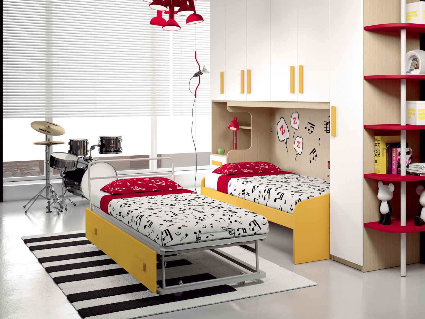 Camerette made in italy ima mobili composizione 13 newformsdesign camerette newformsdesign - Mobili made in italy ...