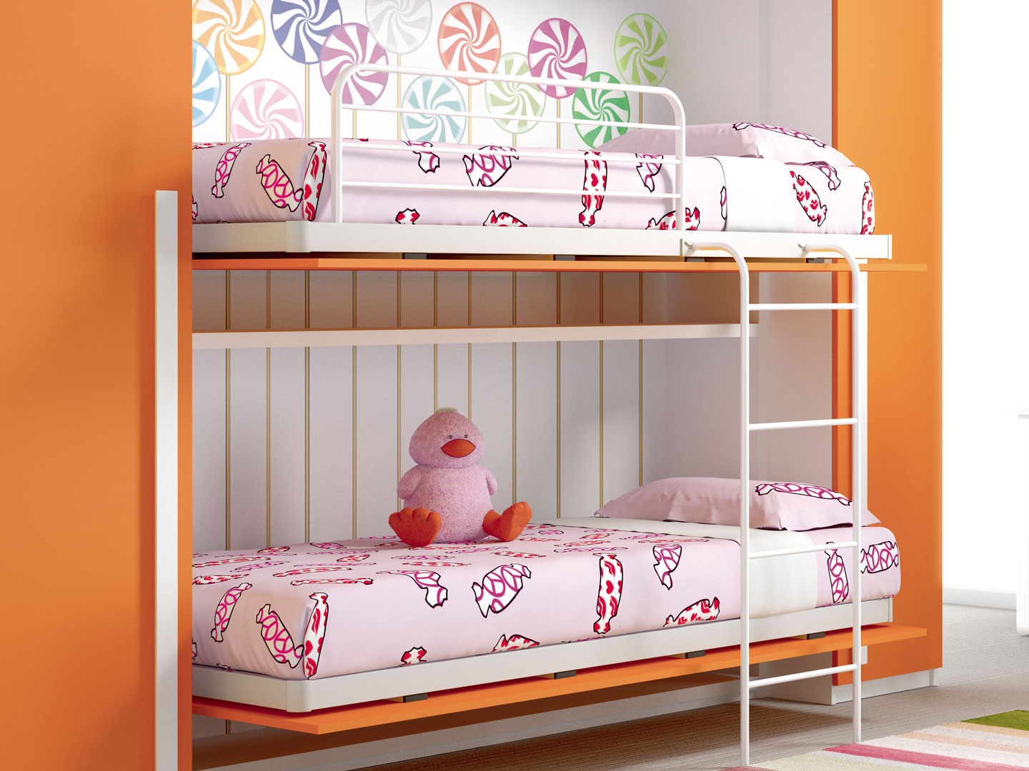 Children 39 s rooms made in italy ima mobili composition 11 newformsdesign children s rooms - Mobili made in italy ...
