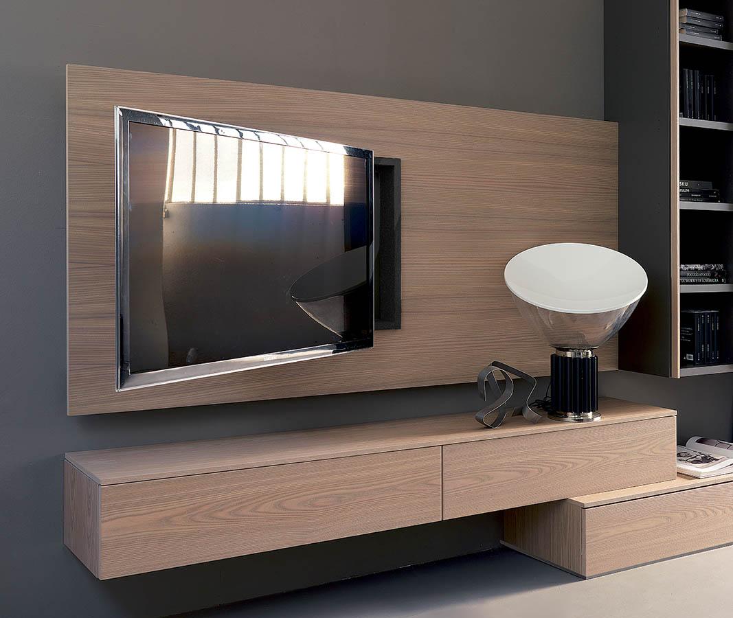 Porta tv fimar rack wide newformsdesign mobili porta tv - Mobili tv girevoli ...