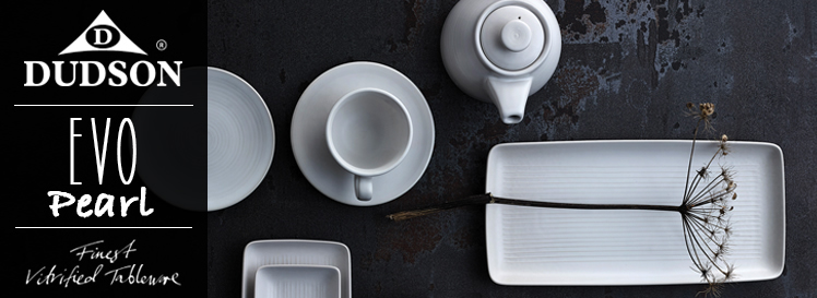 & Dinnerware Dudson Collection Evo Pearl for Restaurants and Hotels ...