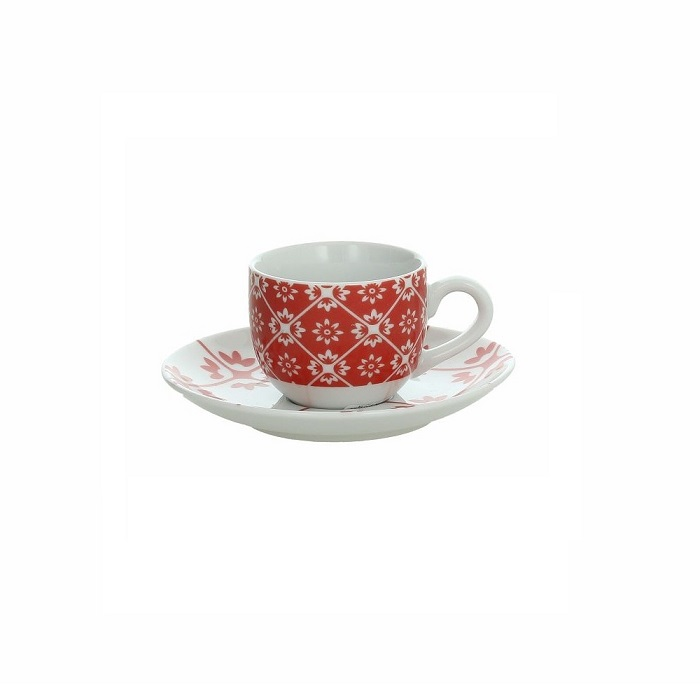 Set 6 Coffee Cups with Saucers Andrea Fontebasso Collection Sfera Piper