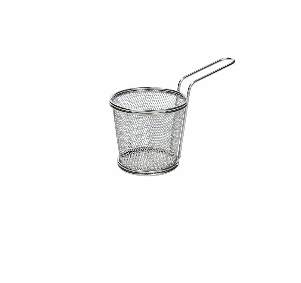 Mini Cestello Fish and Chips 10 cm x H 9 cm Acciaio Inox