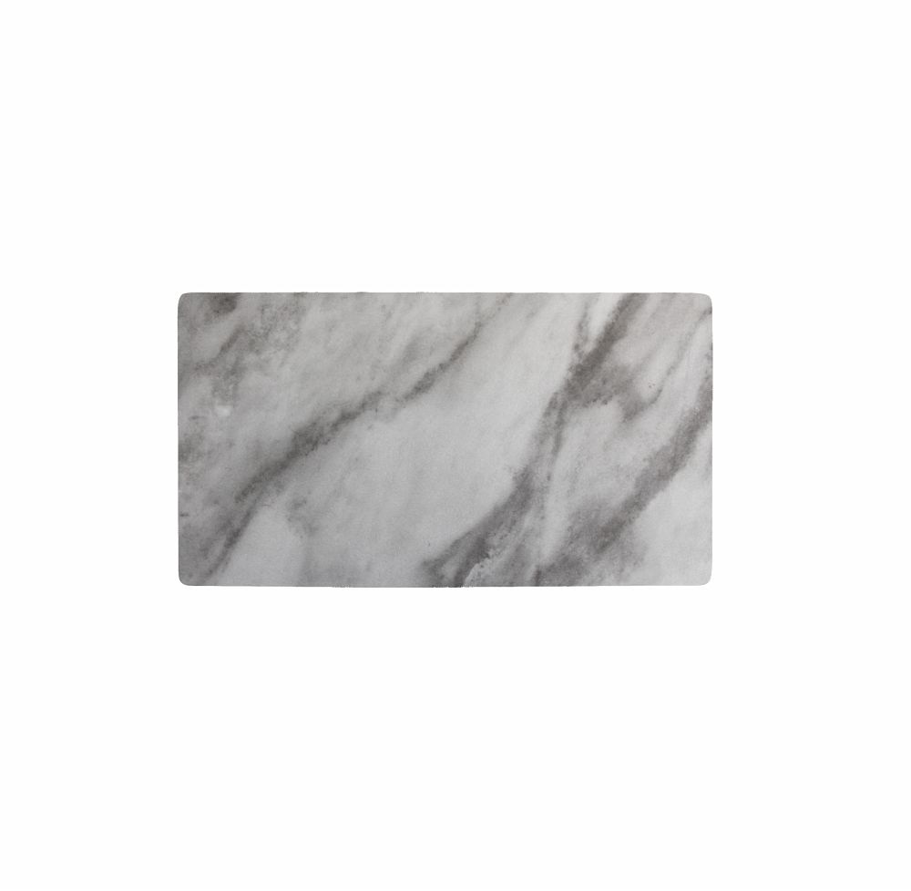 Piastra Gastronorm GN 1/3 Melamina Marble 32 cm x 17 cm