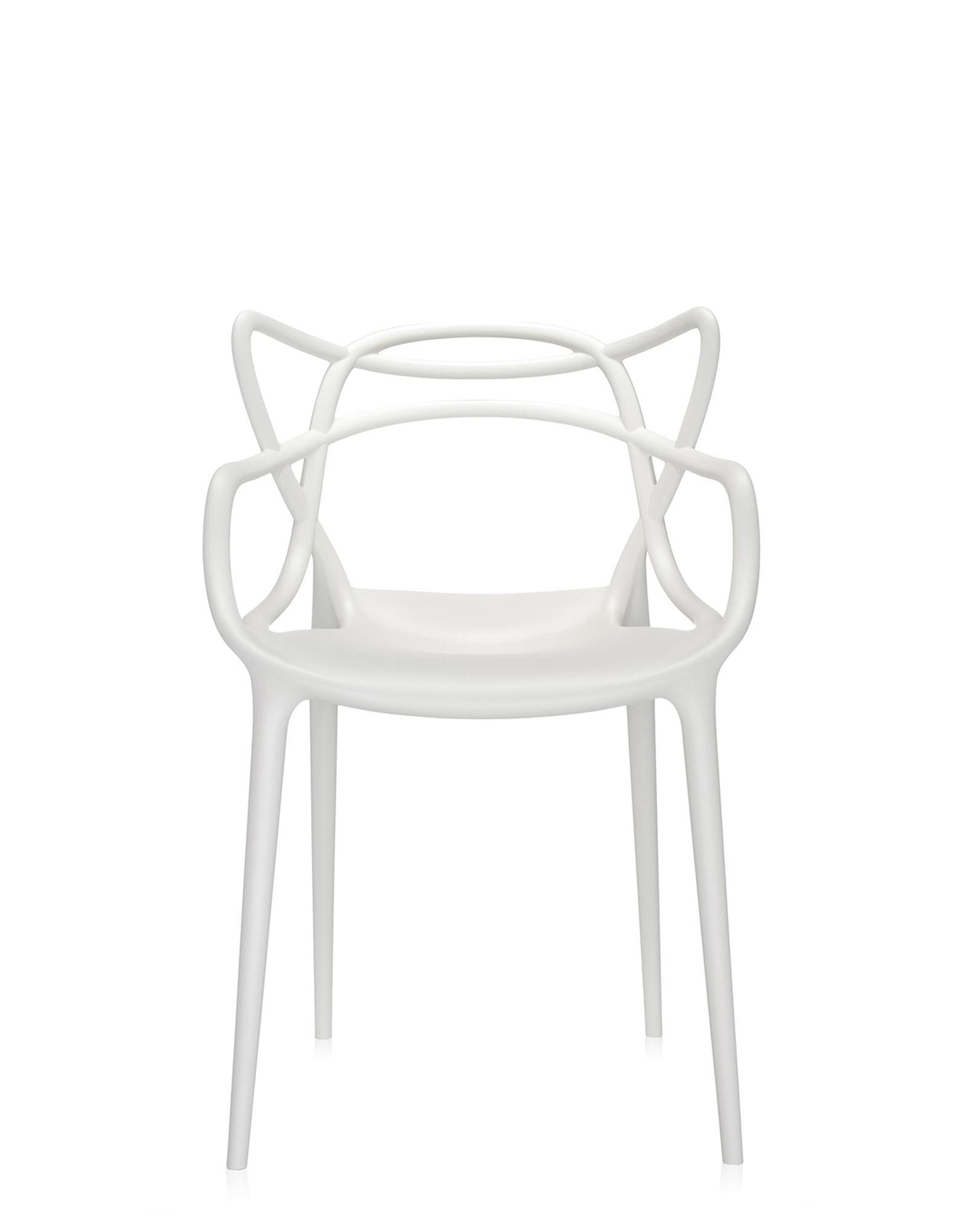 Kartell sedia masters bianca sedie design newformsdesign for Sedia design bianca