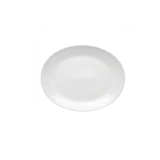 Oval Platter Vista Alegre Collection Escorial 33 cm
