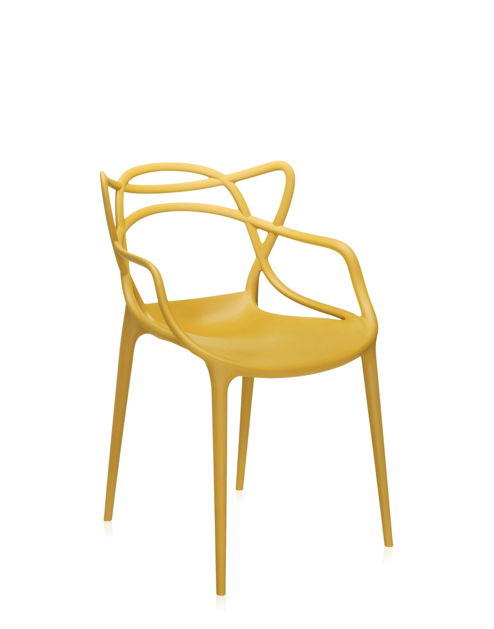 Kartell chair Masters mustard