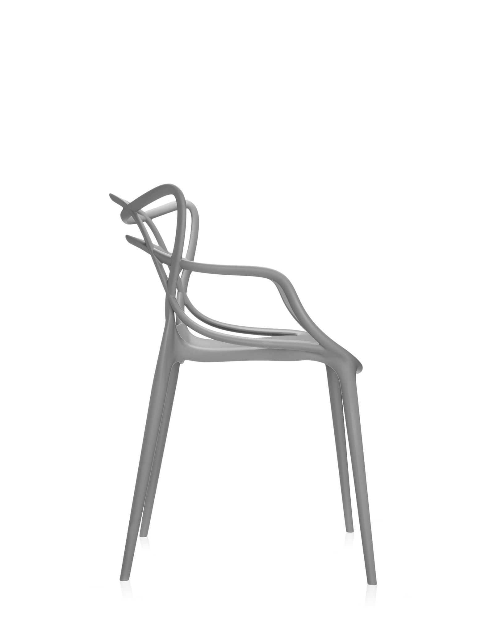 Kartell chair Masters grey