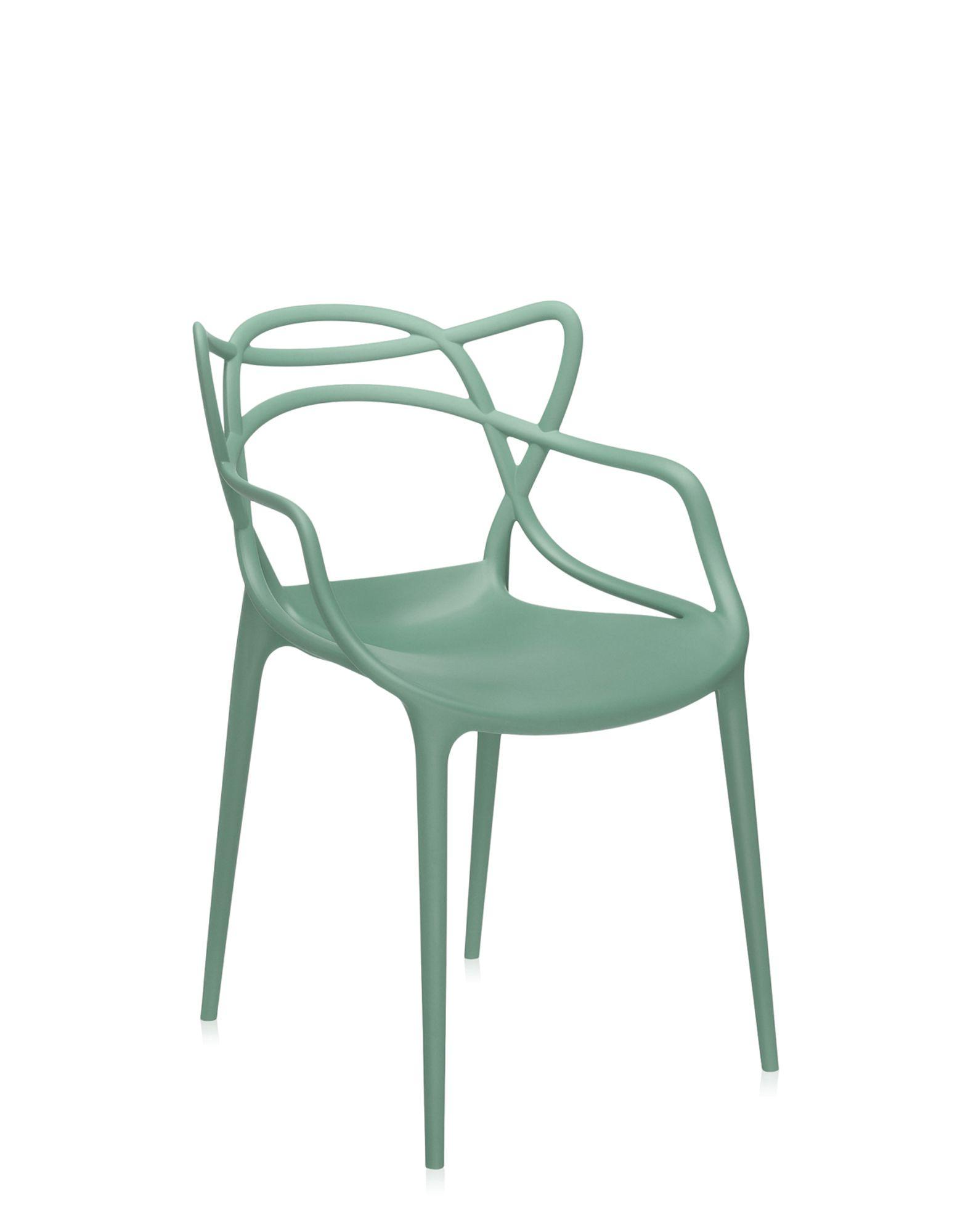 Kartell sedia masters verde salvia kartell sedie design for Sedie design kartell