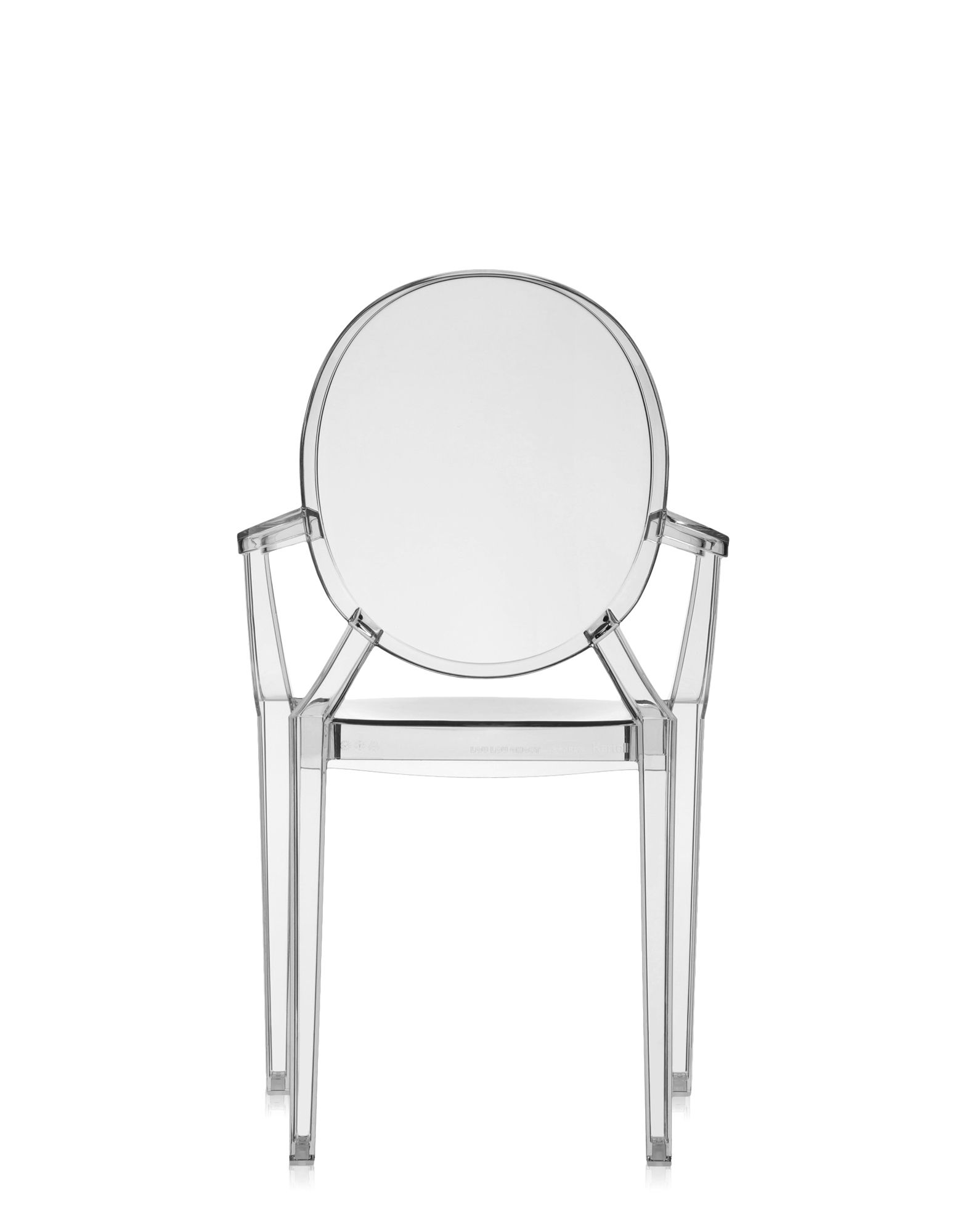 Kartell Louis Ghost light fume\' | Design Chairs | Newformsdesign