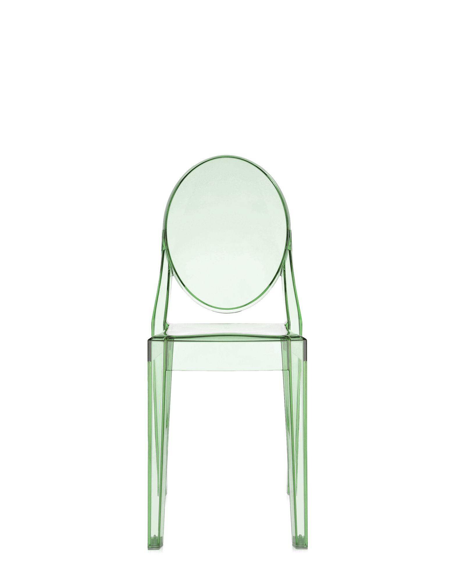 Kartell Victoria Ghost verde trasparente, Newformsdesign | Sedie ...