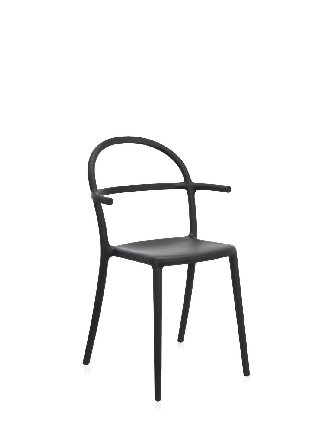 Sedia generic c kartell nera newformsdesign sedie for Sedia design kartell