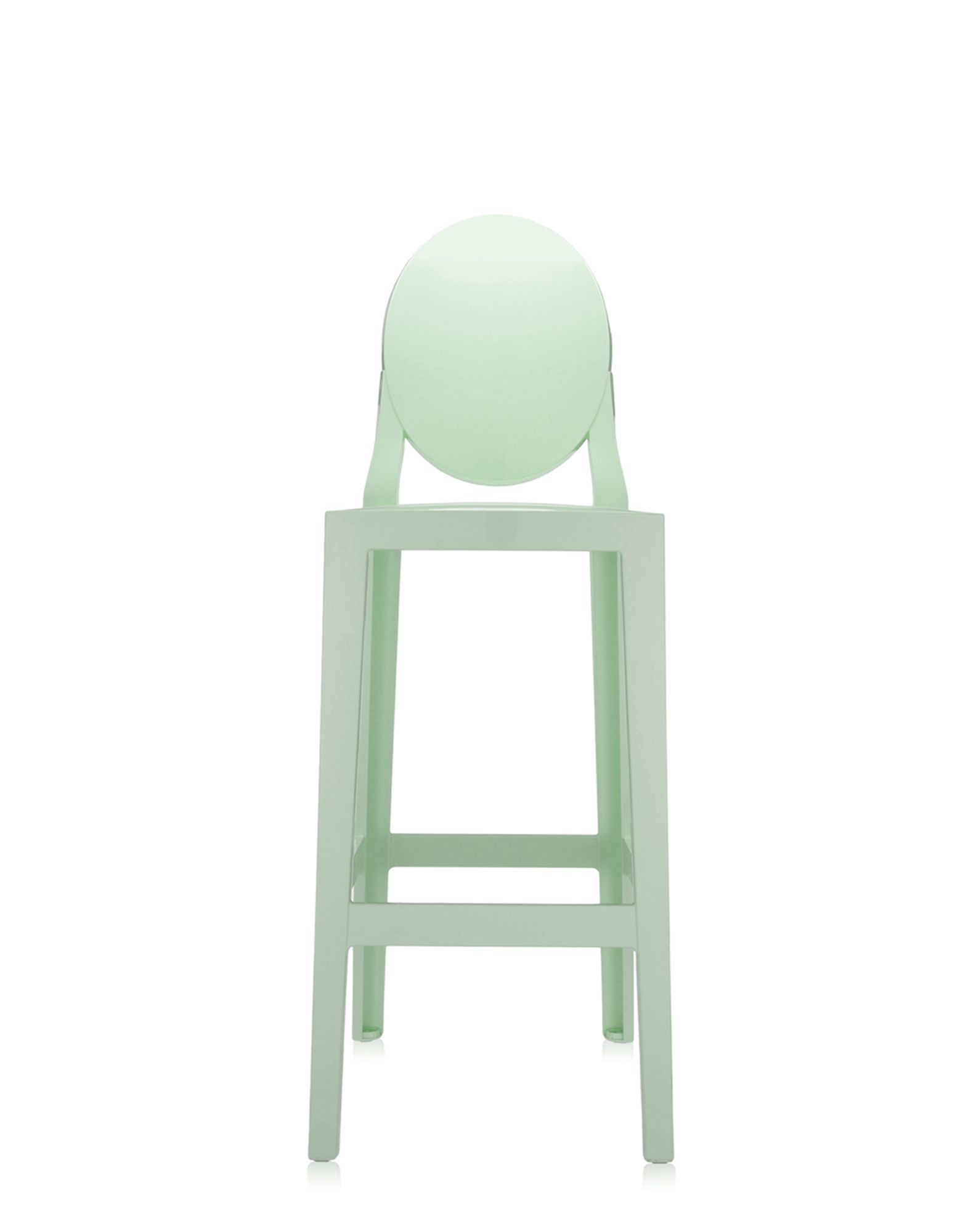 Sgabello kartell one more verde h 75 cm newformsdesign for Sgabello verde