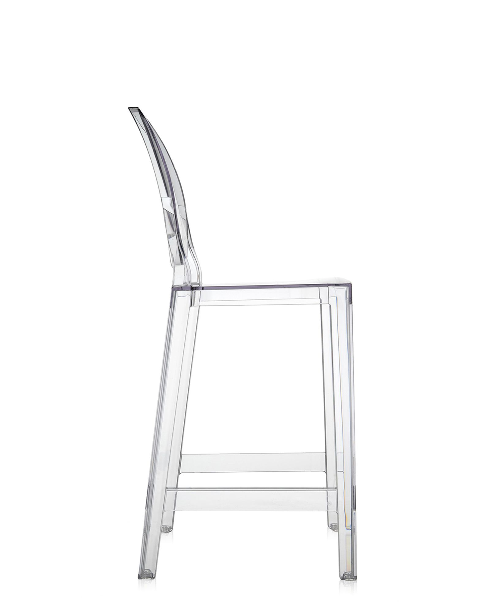 Stool Kartell One More Crystal H 65 cm