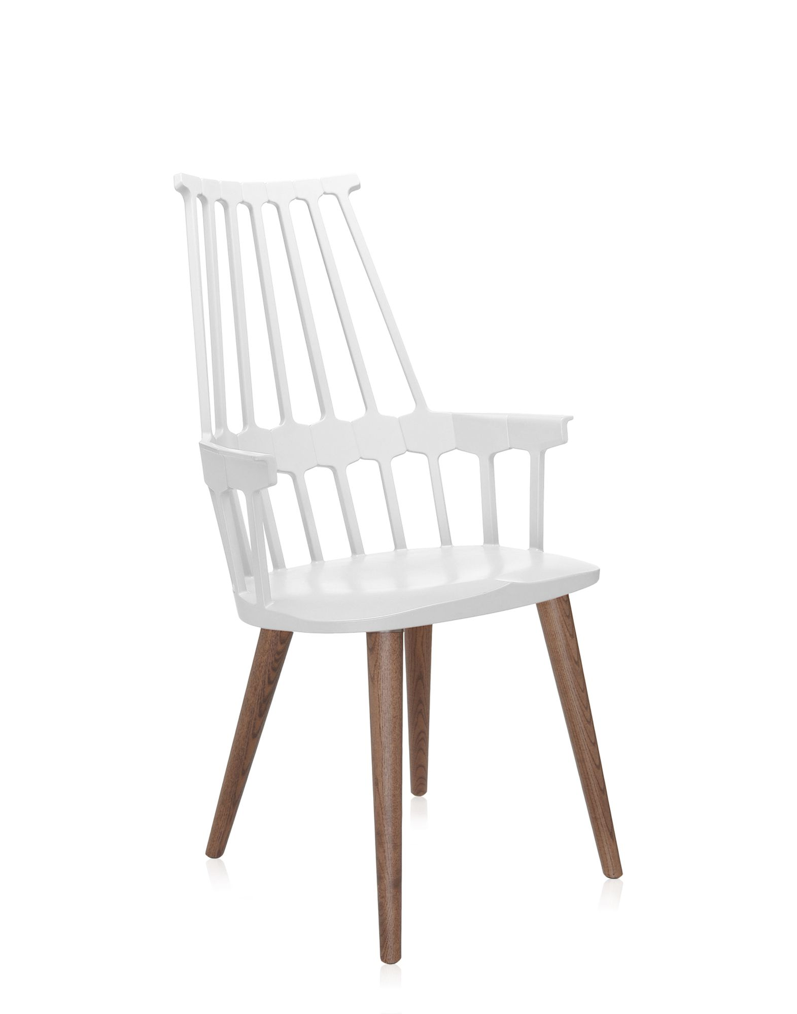 Kartell Comback poltroncina rovere bianco