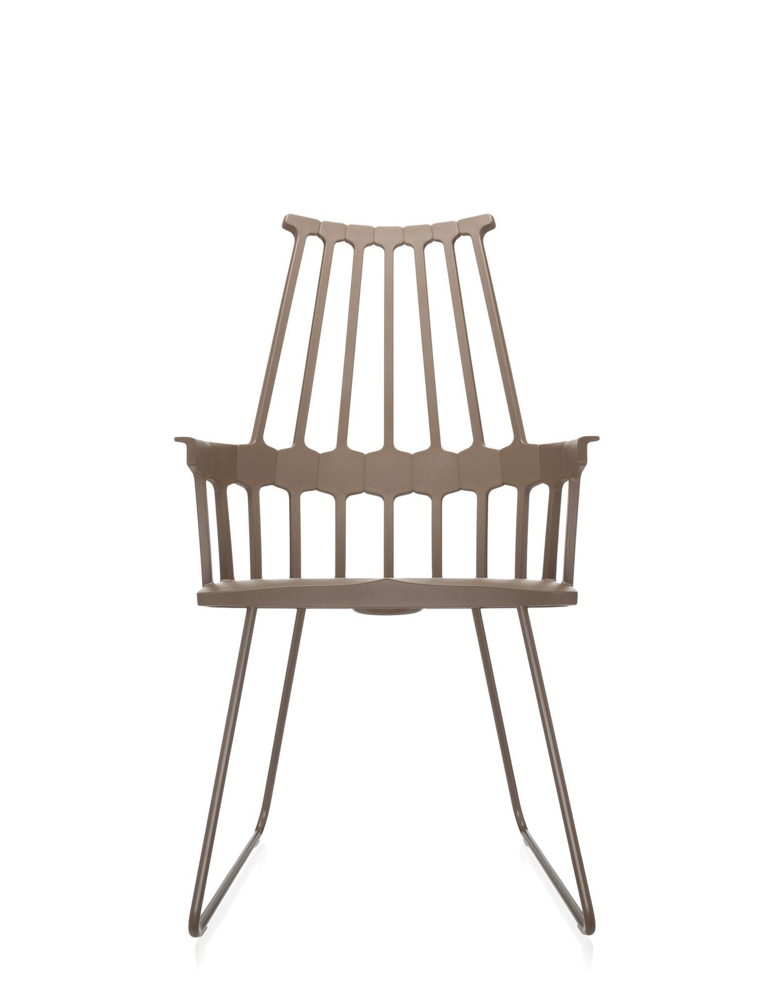 Kartell comback nocciola sedie design newformsdesign for Sedie plastica design kartell
