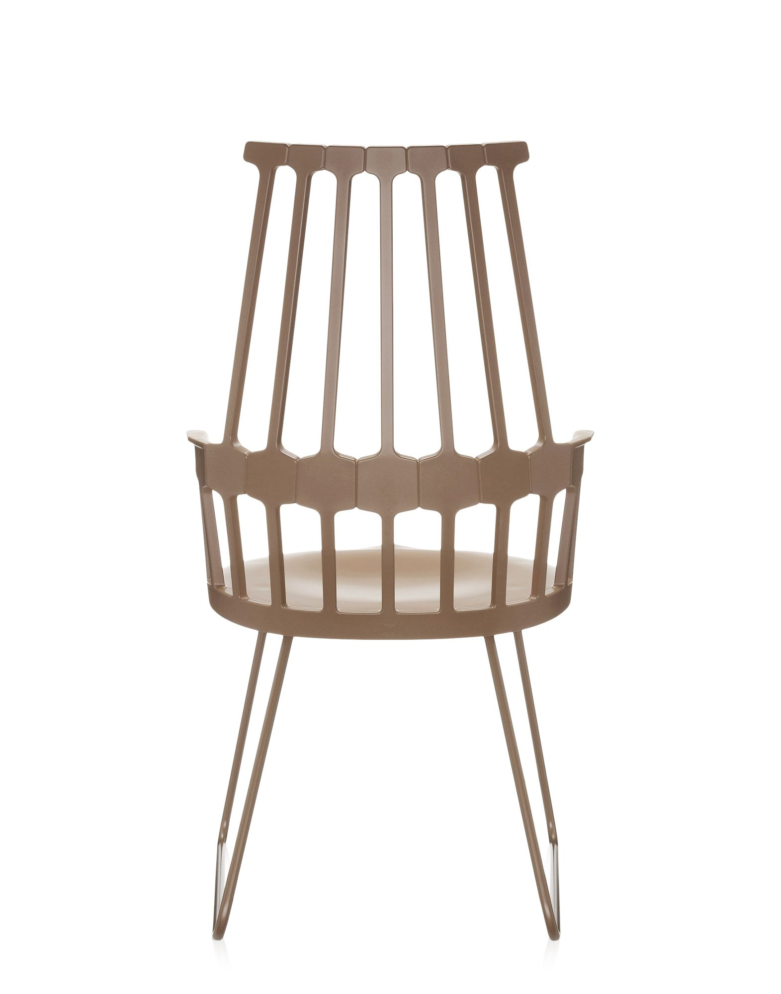 Kartell comback nocciola sedie design newformsdesign for Sedie design kartell