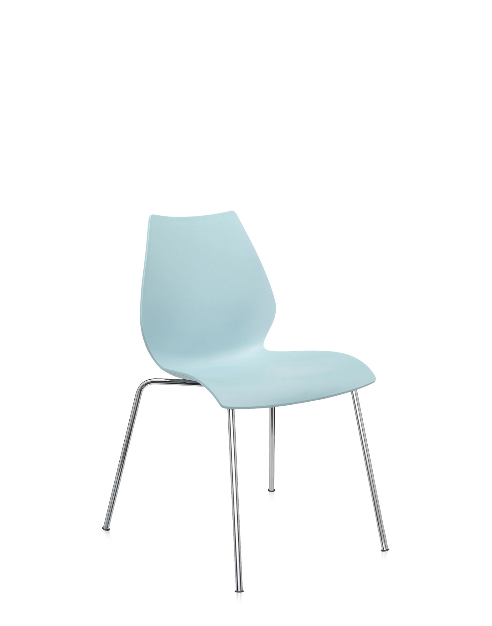 Kartell maui azzurro chiaro sedie design newformsdesign for Sedie design kartell