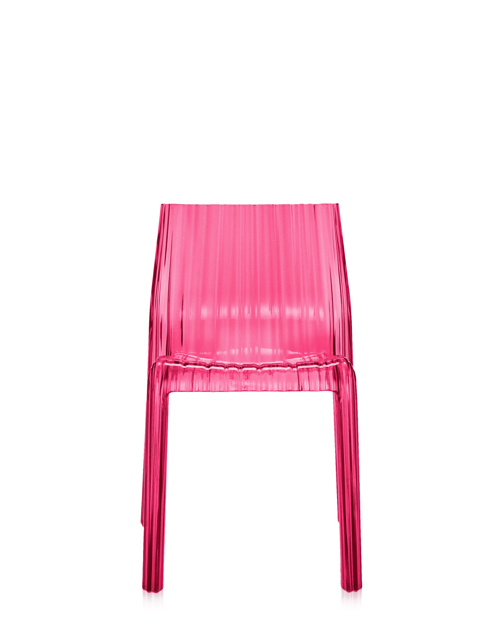 Kartell frilly fucsia sedie design newformsdesign for Sedie design kartell