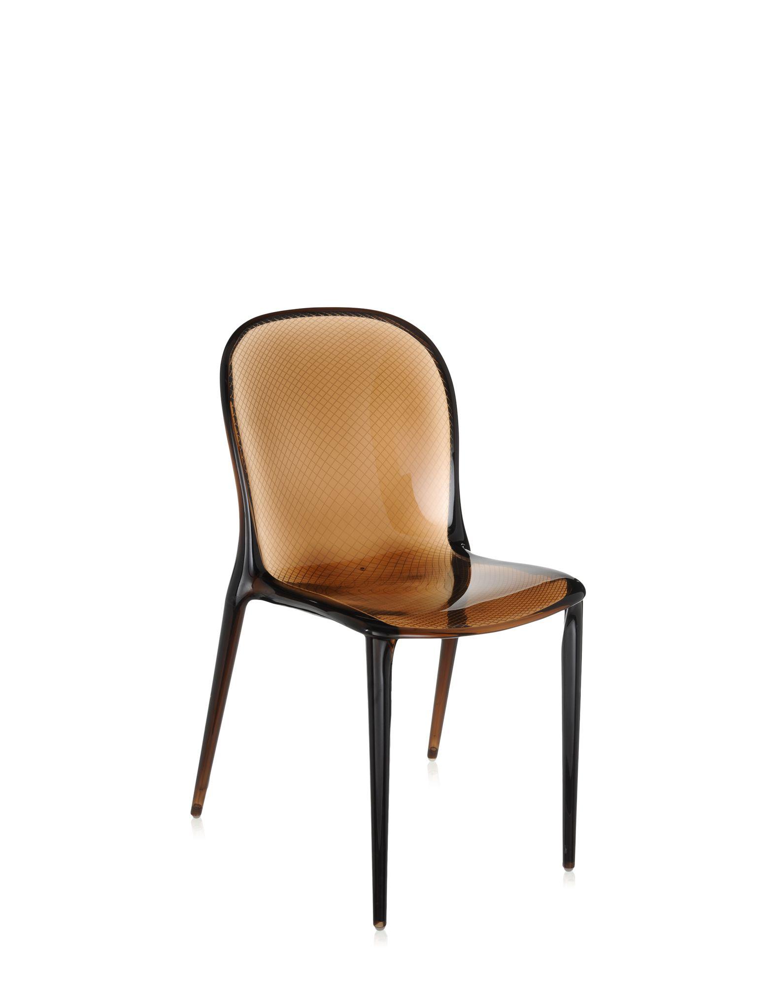 Kartell thalya cioccolato sedie design newformsdesign for Sedie design kartell