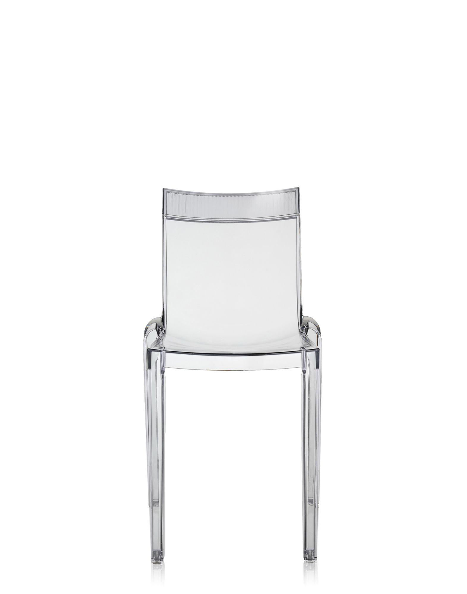 Kartell hi cut cristallo sedie design newformsdesign for Sedie design kartell