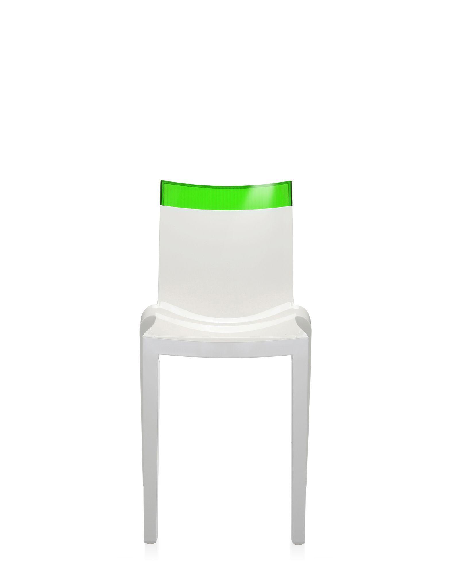 Sgabelli Kartell One More Prezzo.Kartell Hi Cut Green White Design Chairs Newformsdesign