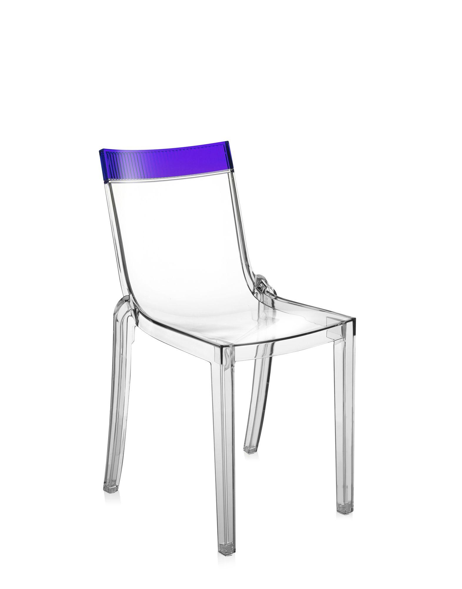 Kartell hi cut viola cristallo sedie design newformsdesign for Sedie design scontate