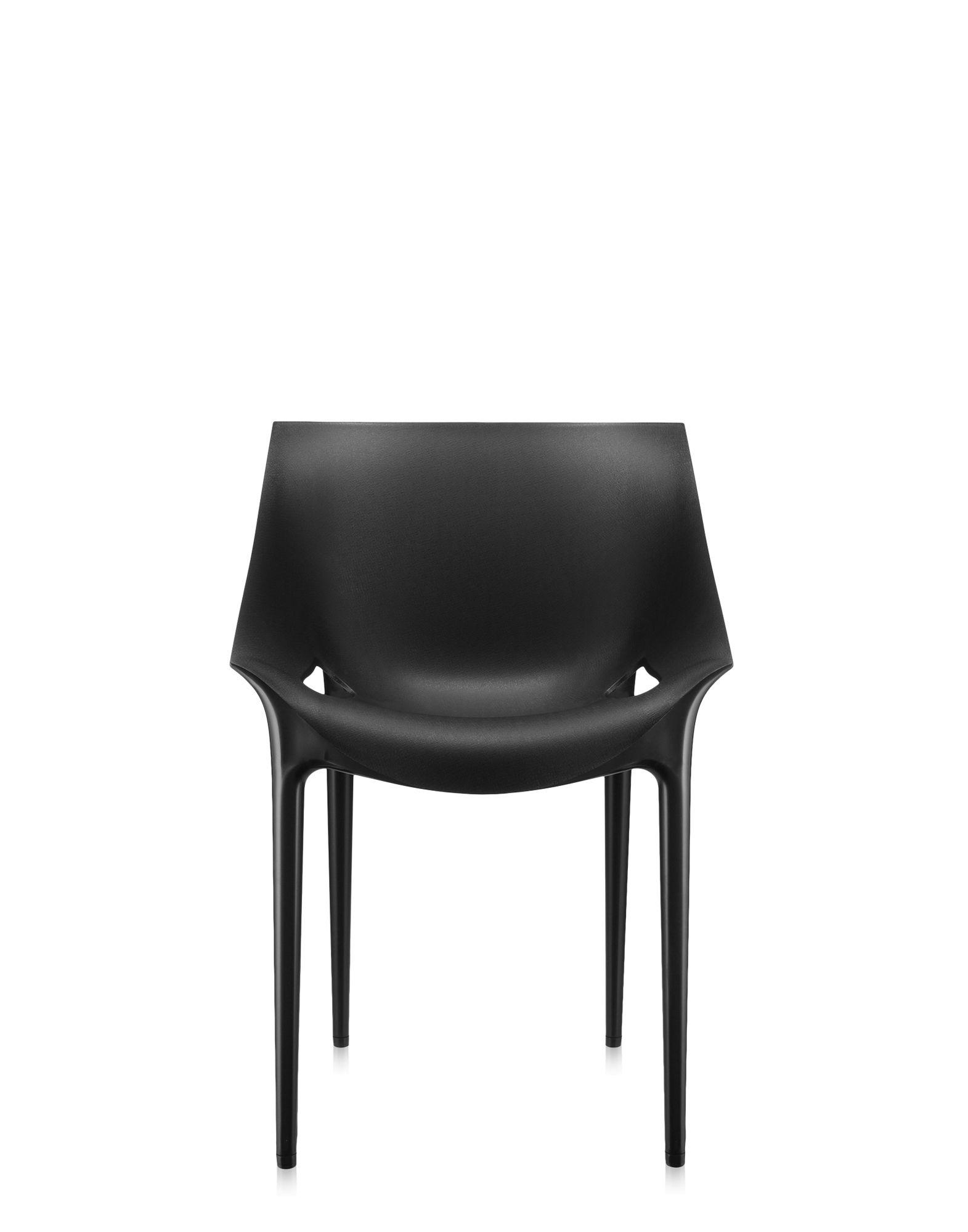 Kartell dr yes nero sedie design newformsdesign for Sedie design kartell