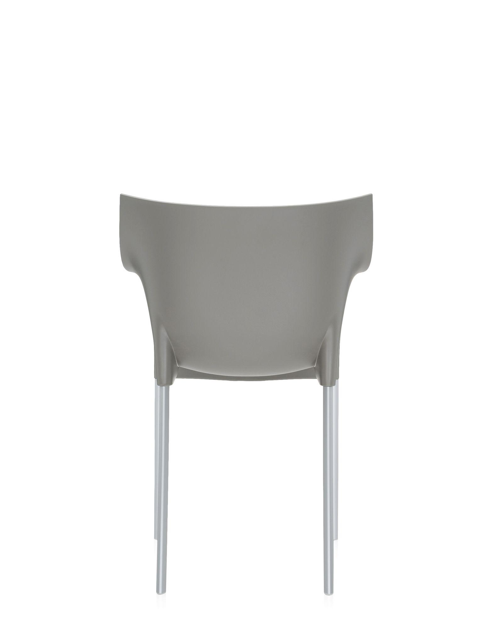 kartell dr no grigio caldo medio sedie design newformsdesign. Black Bedroom Furniture Sets. Home Design Ideas