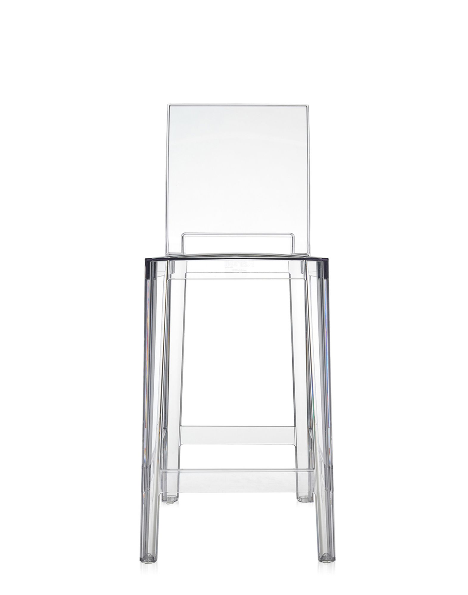 Stool Kartell One More Please crystal H 65 cm