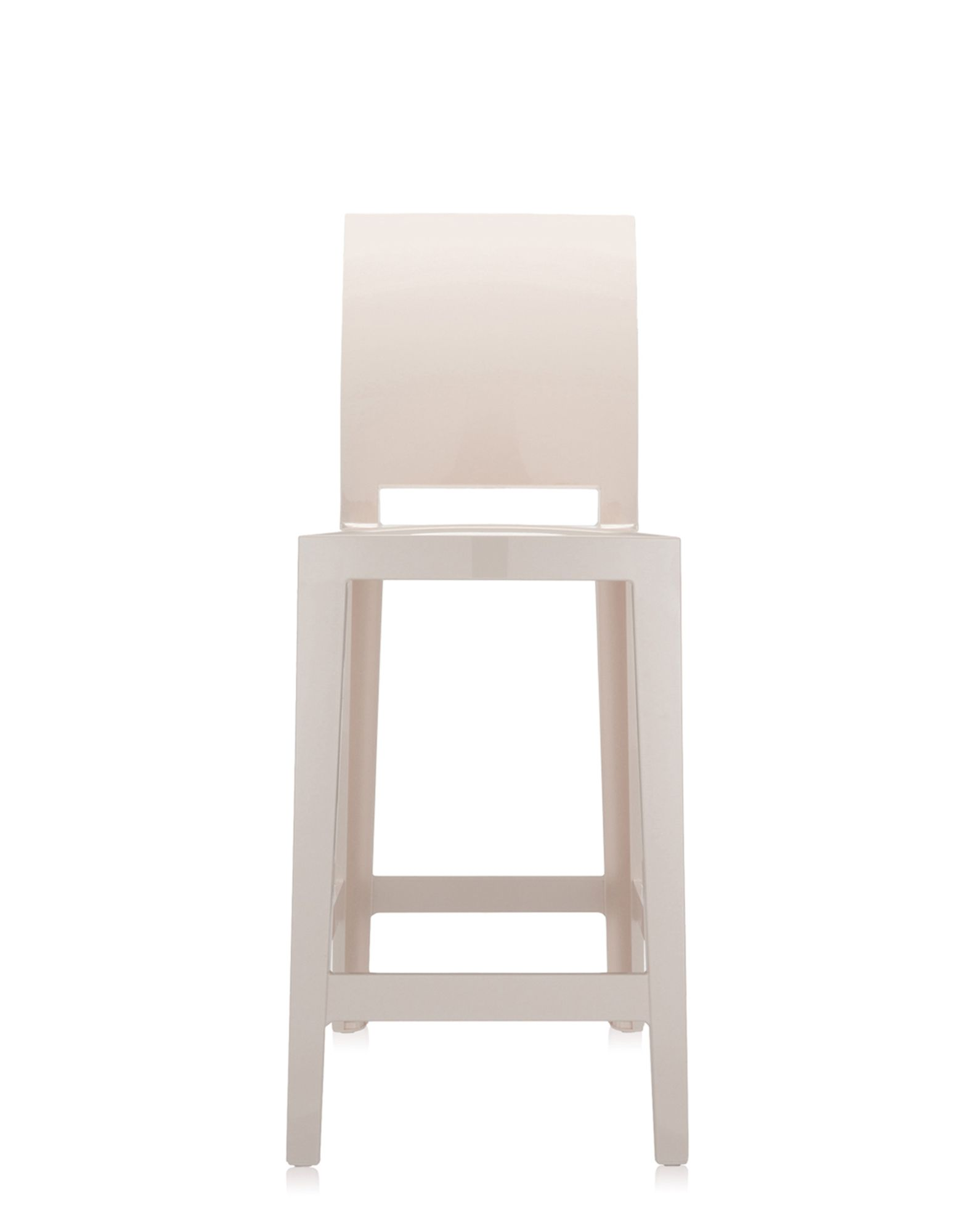 Stool Kartell One More Please Sand H 65 Cm Newformsdesign