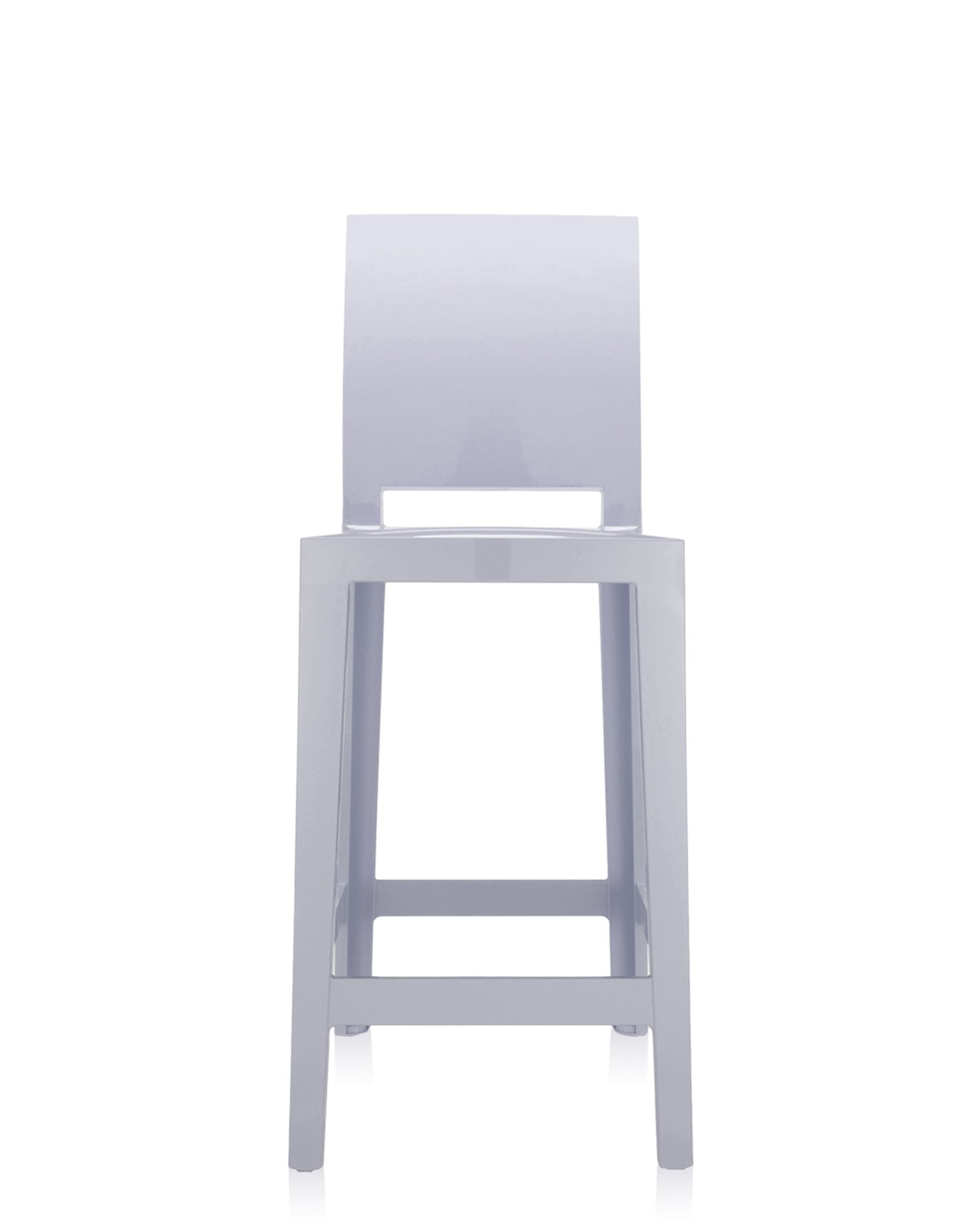 Kartell sgabello One More Please lavanda H 65 cm