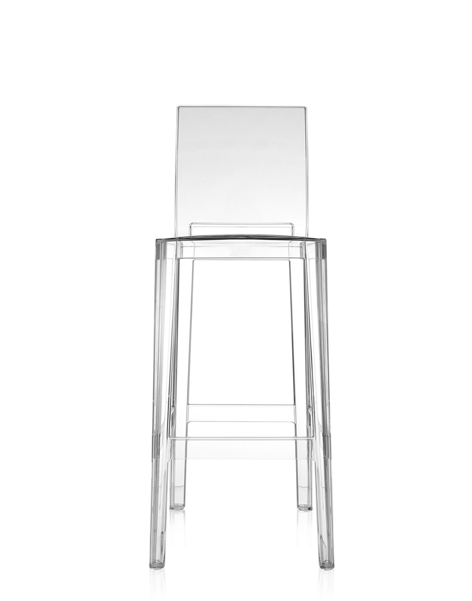 Kartell sgabello one more please cristallo 75 cm for Sgabelli kartell outlet