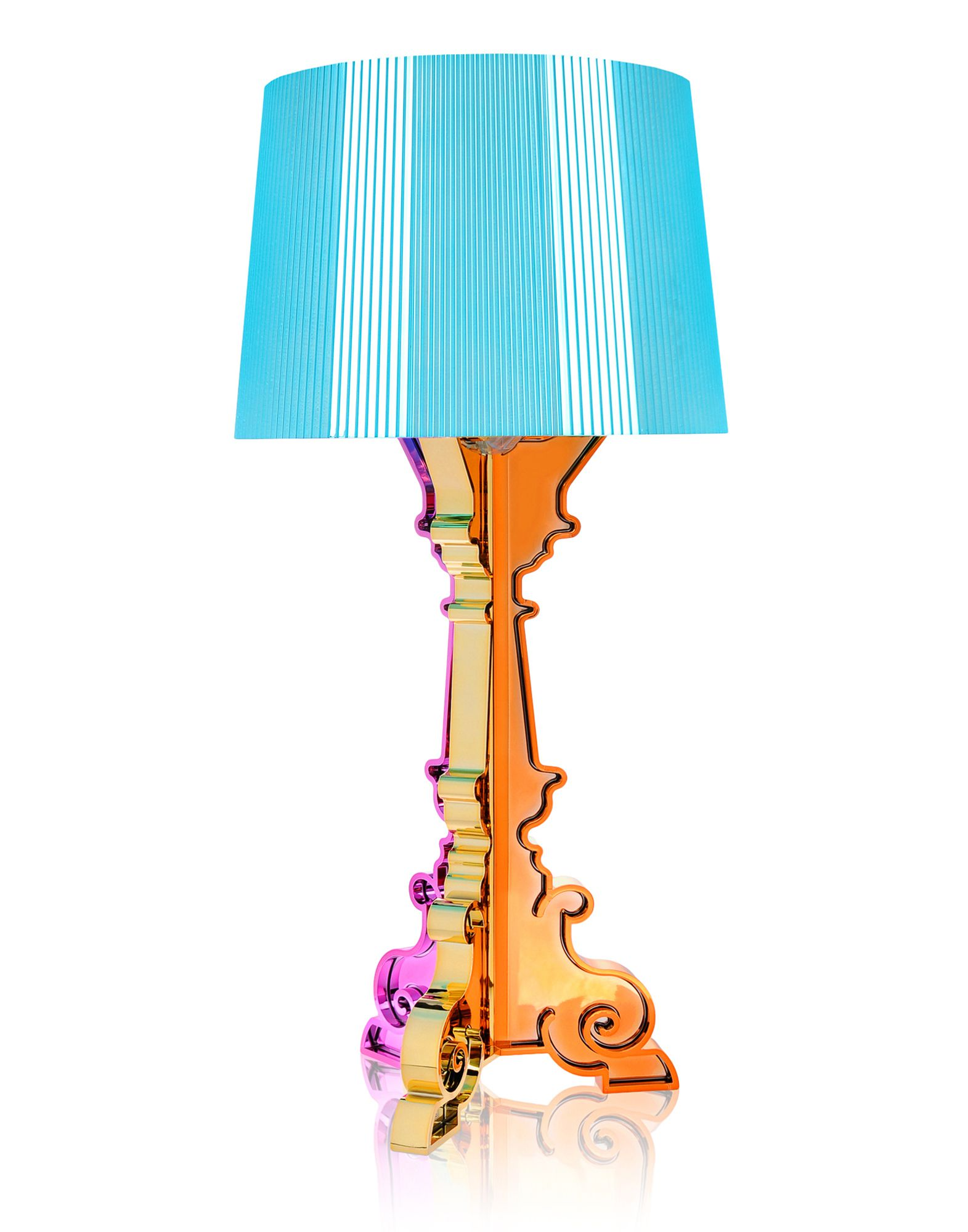 Table Lamp Kartell Bourgie Multicolor Light Blue