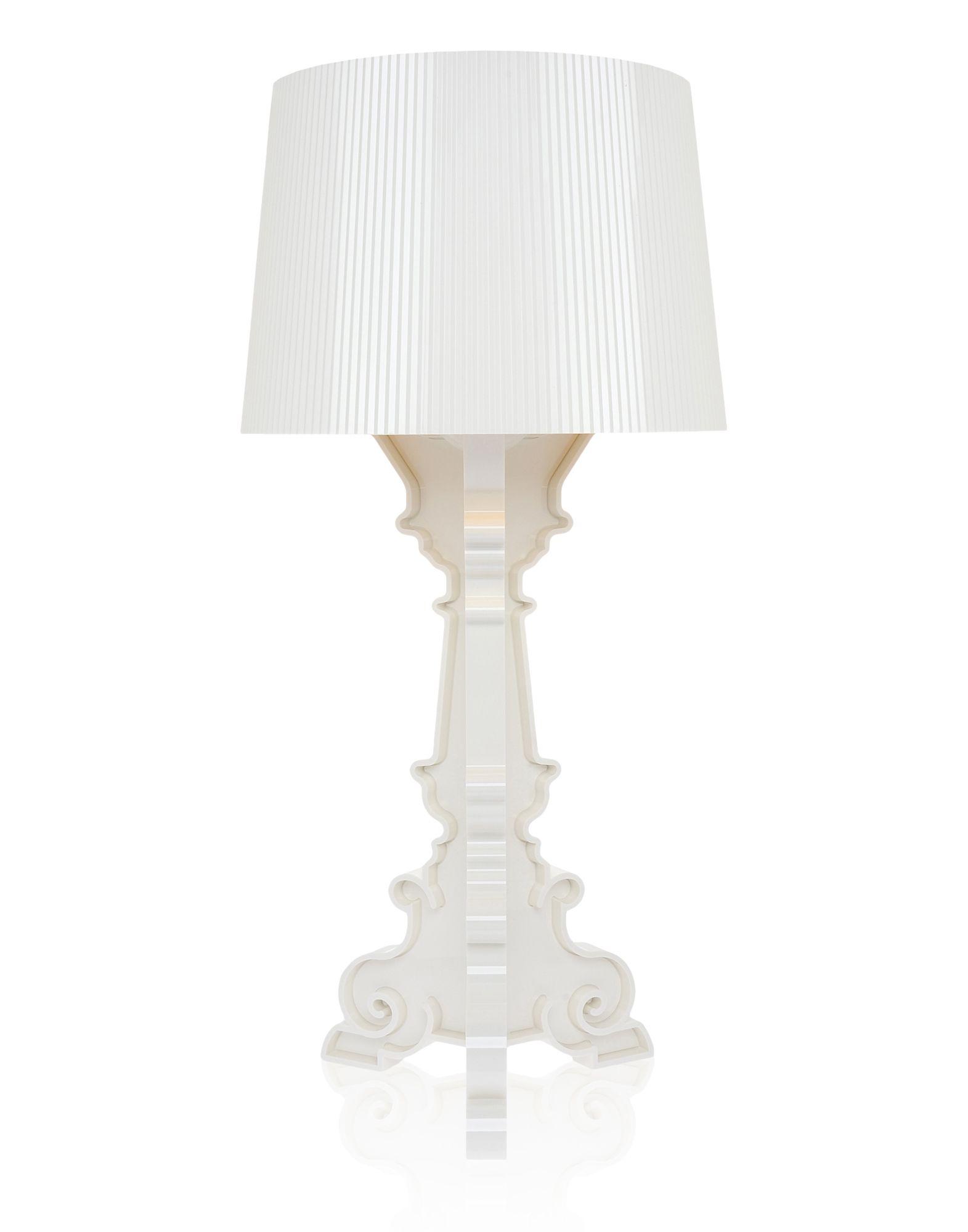 Lampada da Tavolo Kartell Bourgie Bianco Oro, Newformsdesign | Lampade da  Tavolo | Newformsdesign