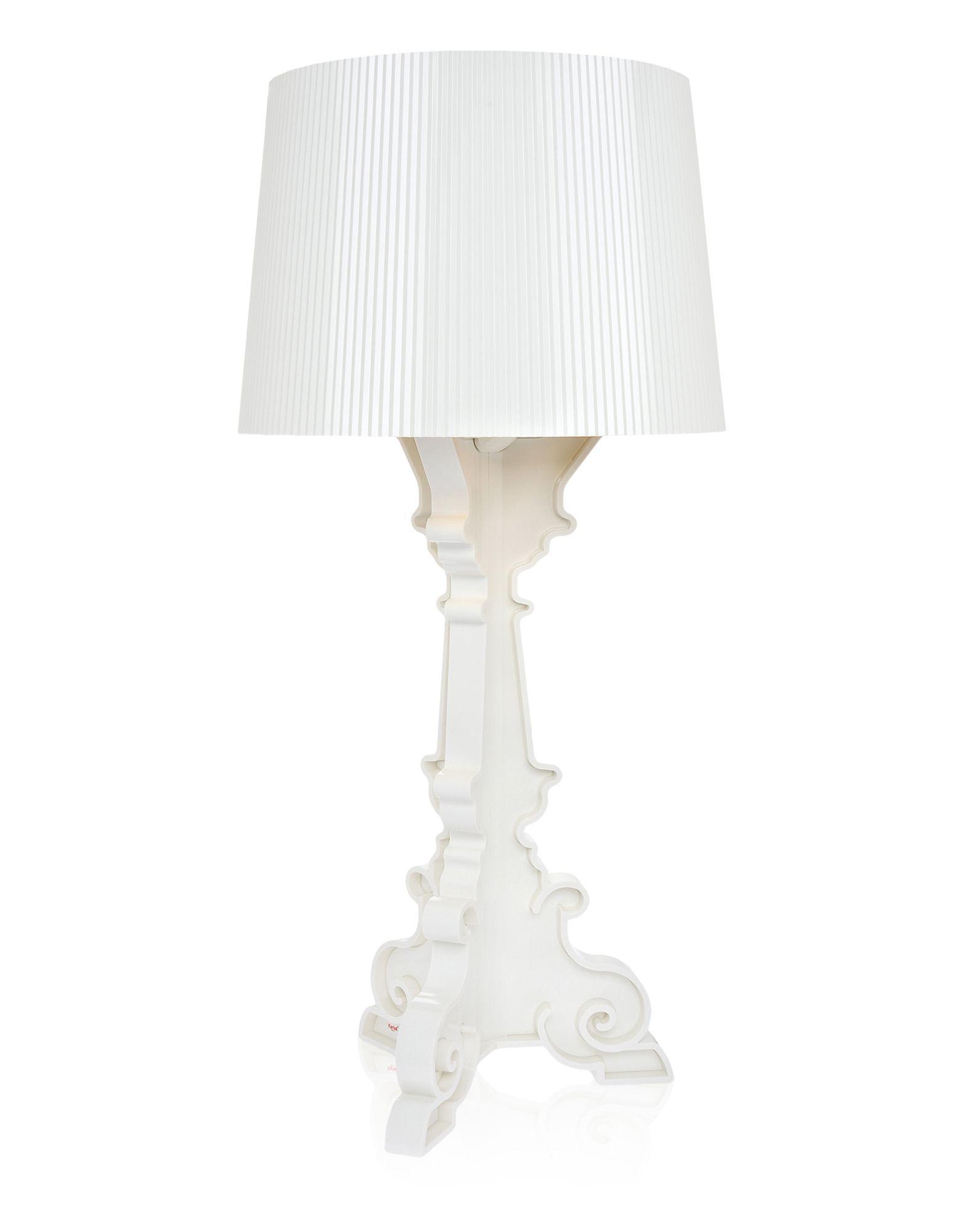 Lampada da Tavolo Kartell Bourgie Bianco Oro, Newformsdesign ...