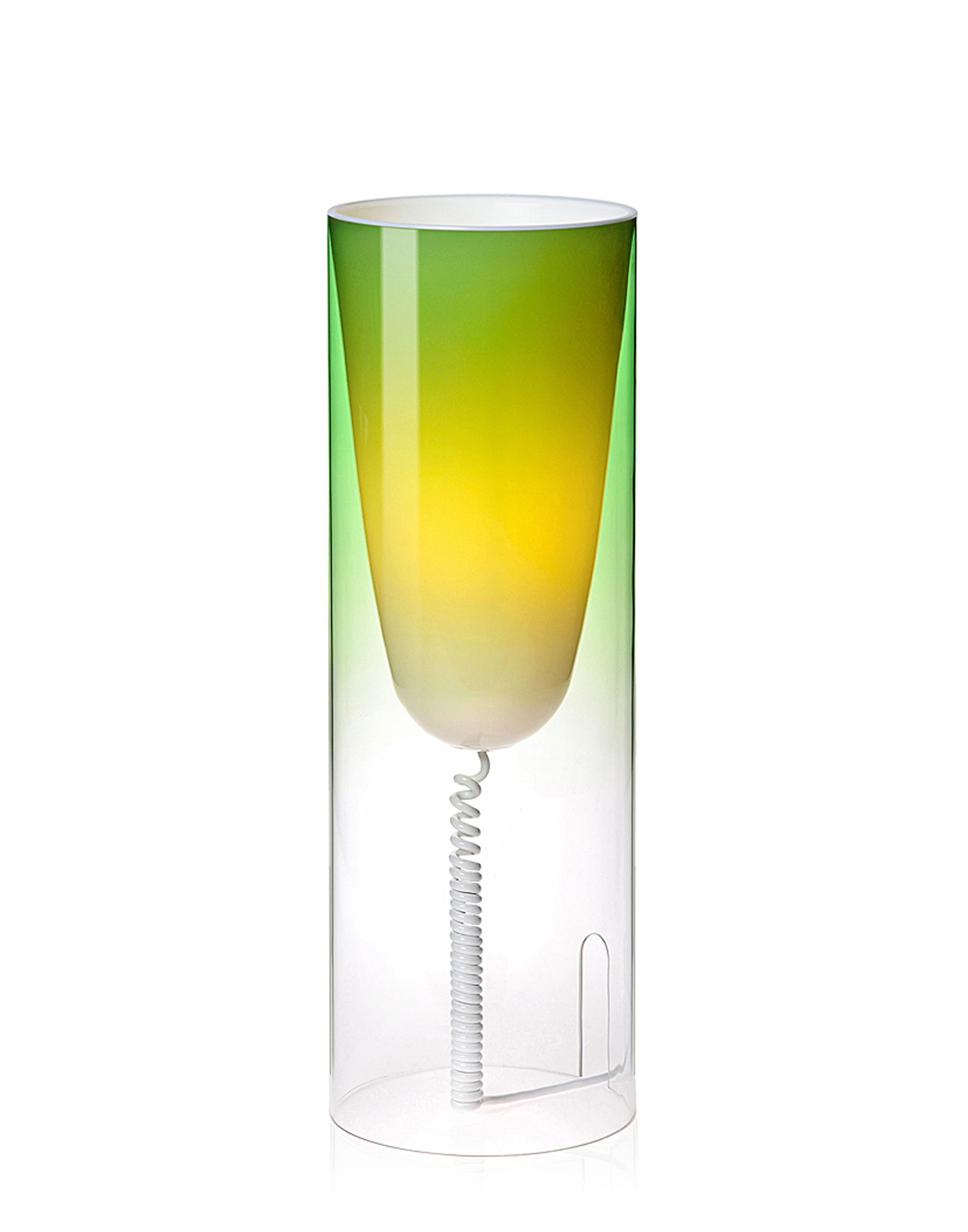 Table Lamp Kartell Toobe Green Emerald Newformsdesign