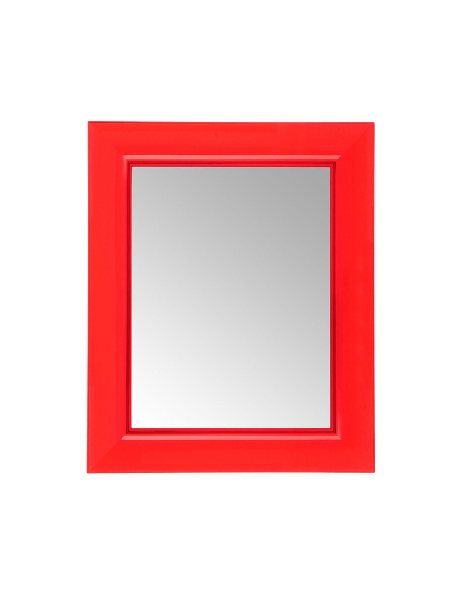 Kartell specchio francois ghost rosso trasparente specchi newformsdesign - Kartell specchio ghost ...