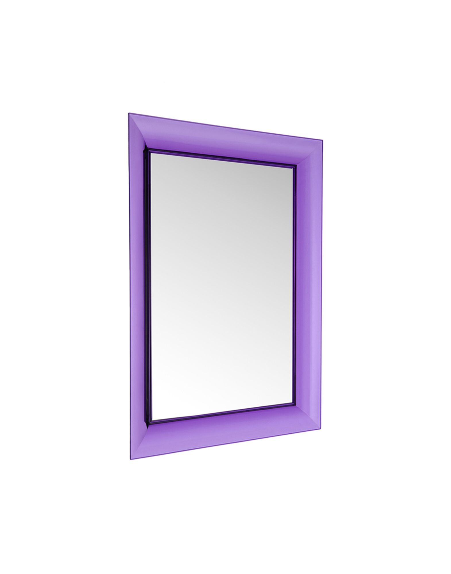 Kartell mirror francois ghost violet mirrors for Miroir francois ghost kartell
