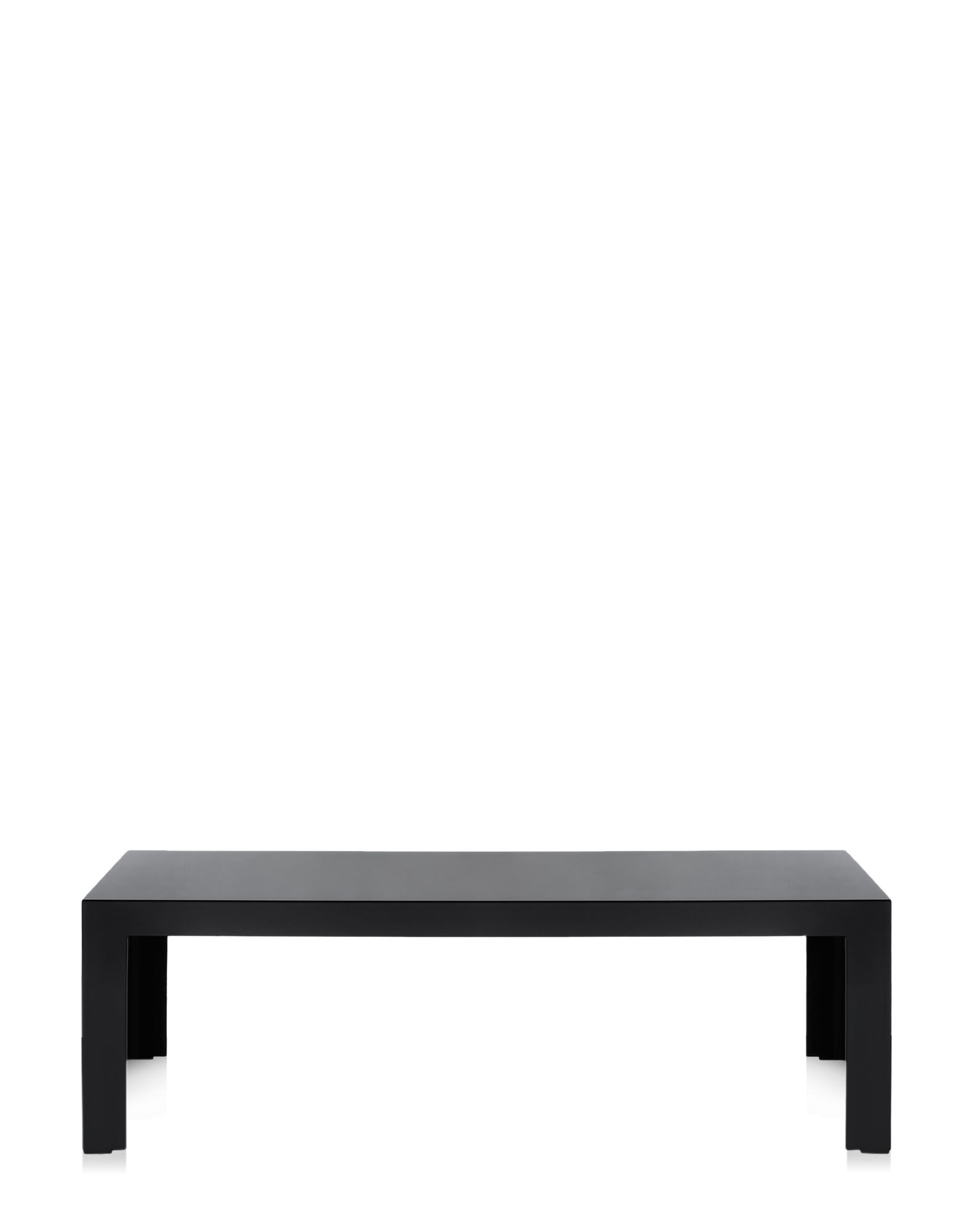 Side Table Kartell Invisible Black Covering Rectangular H